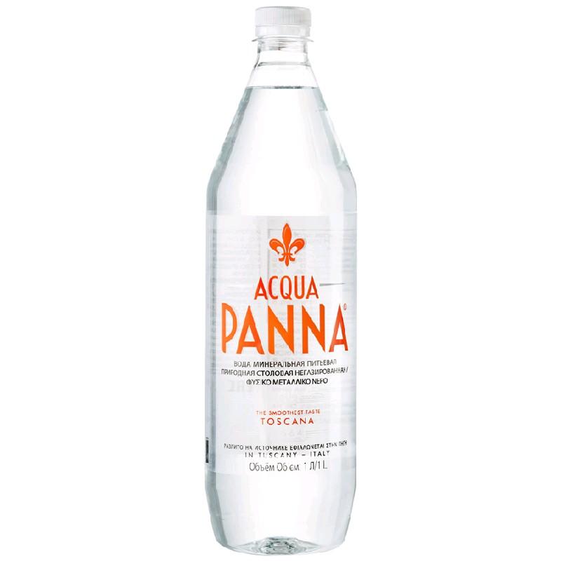Acqua Panna Минеральная вода н/газ пэт 1000 мл*12шт