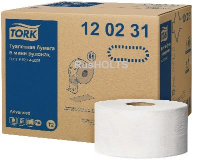 МБП Туалетная бумага T2 в мини-рулонах 120231