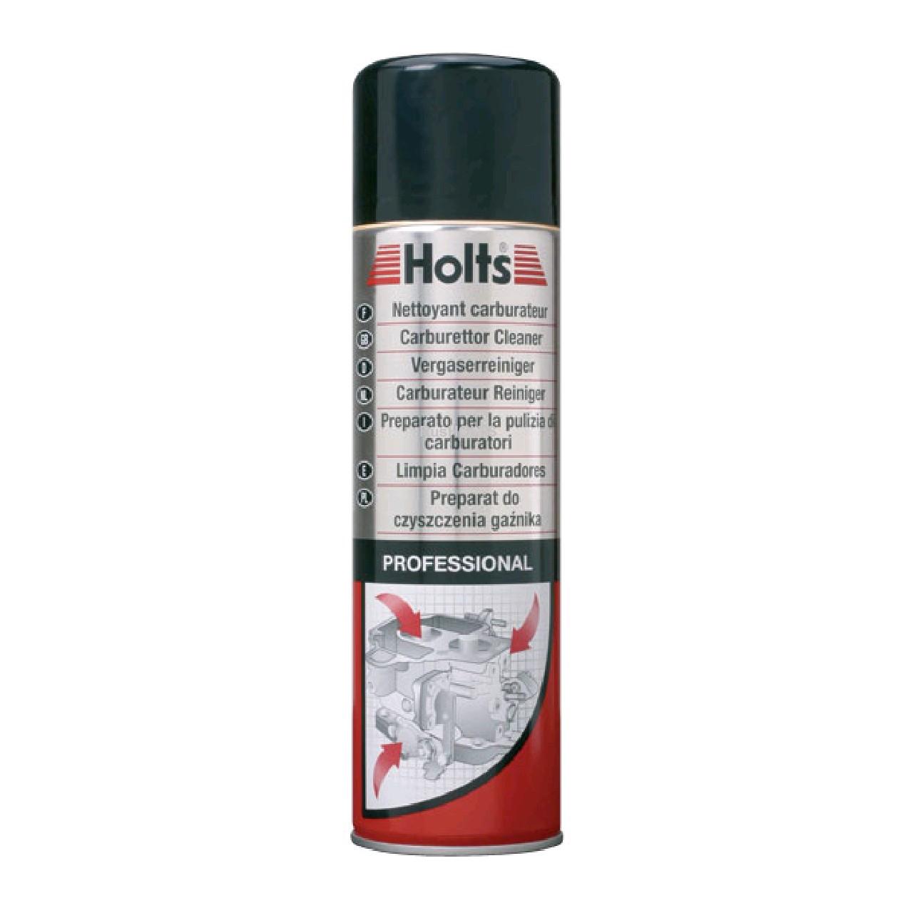 HOLTS PRO - Очиститель карбюратора (аэро) 400мл