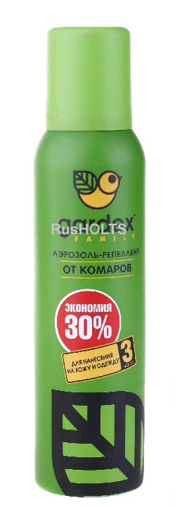 Gardex Family Аэрозоль-репеллент от комаров 125 мл