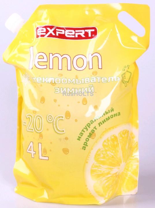 EXPERT Стеклоомыватель Lemon 4л -20 (дой пак)