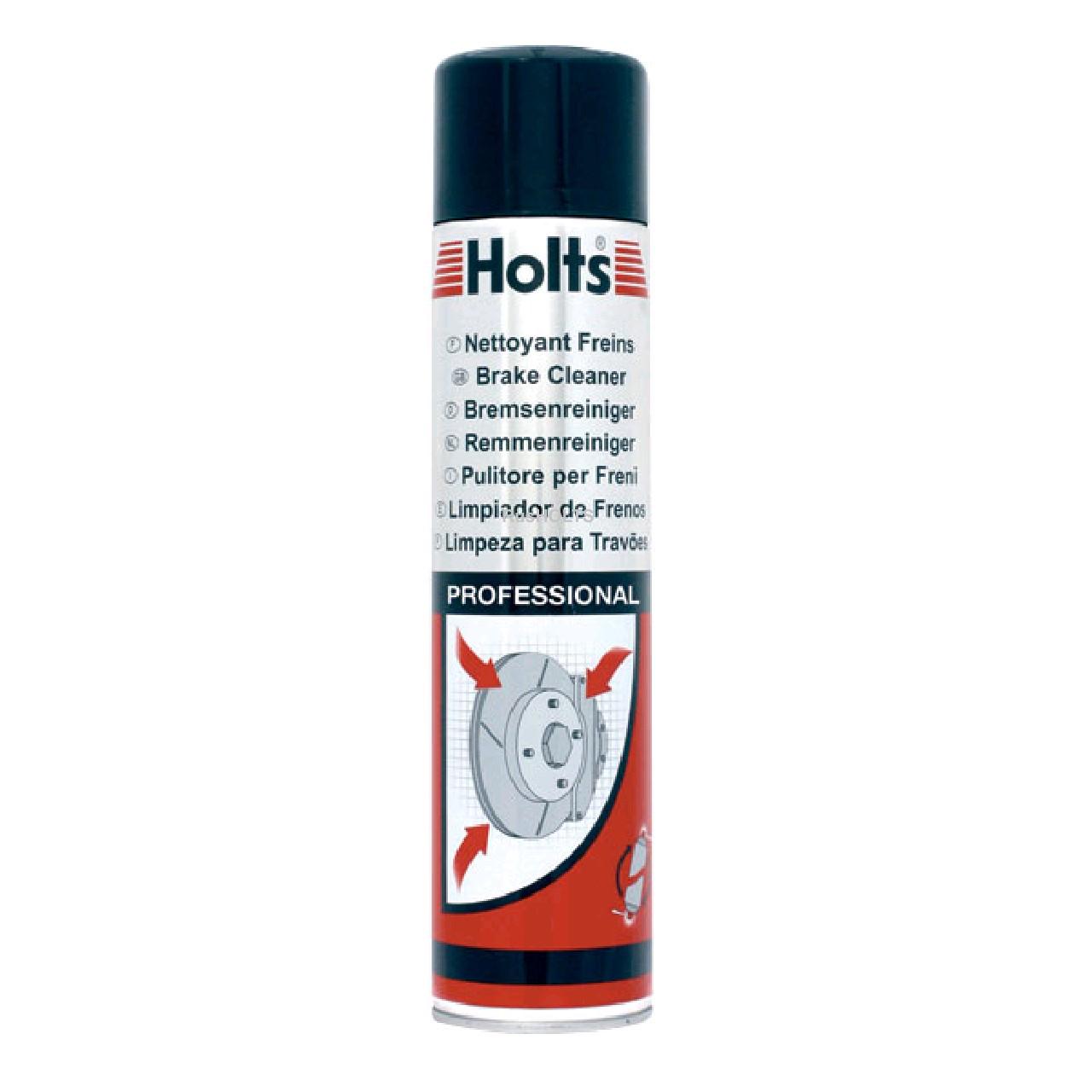 HOLTS PRO - Очиститель тормозов (аэро) 600мл
