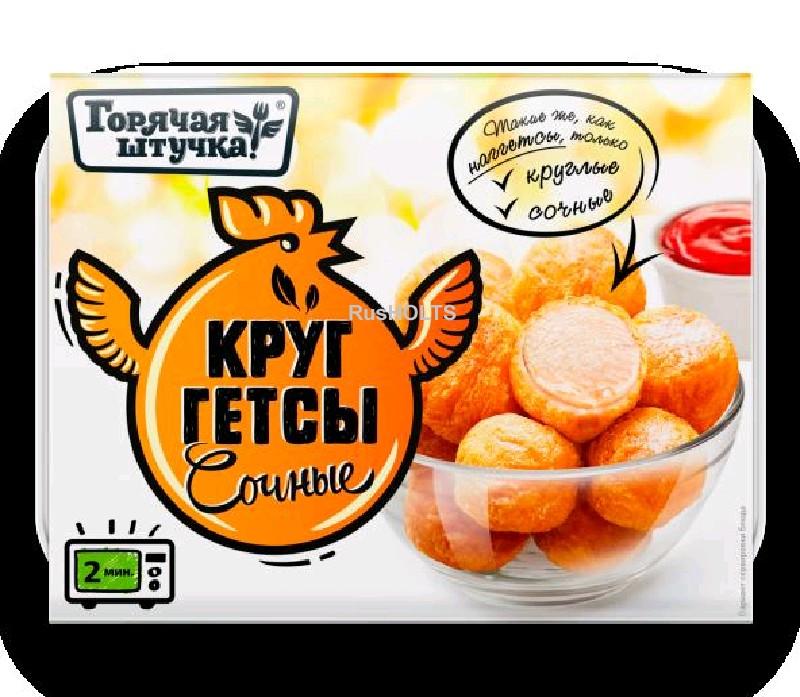 Изделия кулинарные рубленые в тесте из мяса птицы куриные жареные первый сорт: Круггетсы сочные