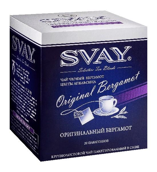 Чай Svay  Оригинальный бергамот уп 20шт