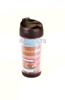 DRIVE CAFE Термокружка 350мл, пластик, болид