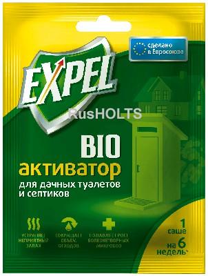 EXPEL Биоактиватор для для дачных туалетов и септиков