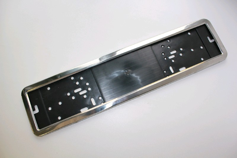 EXPERT Рамка для номерного знака, нержавеющая сталь