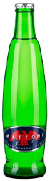 """Вода минеральная питьевая лечебно-столовая """"Маттони"""" (""""Mattoni"""") газированная, стекло, 0,33"""