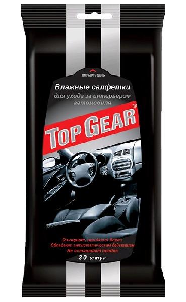 Top Gear Салфетки  для ухода за салоном автомобиля 30шт