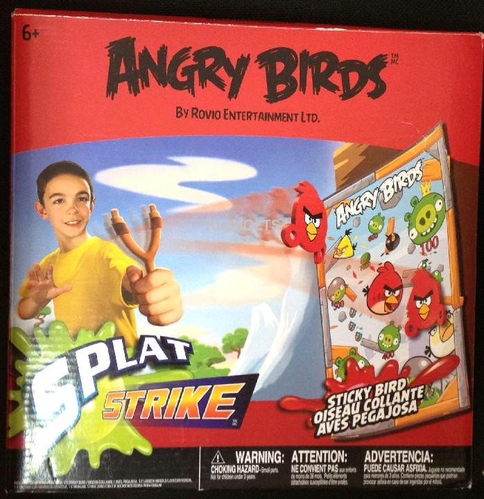 Angry Birds Игровой набор Меткость: Мишень, рогатка + 3 пули-липучки,