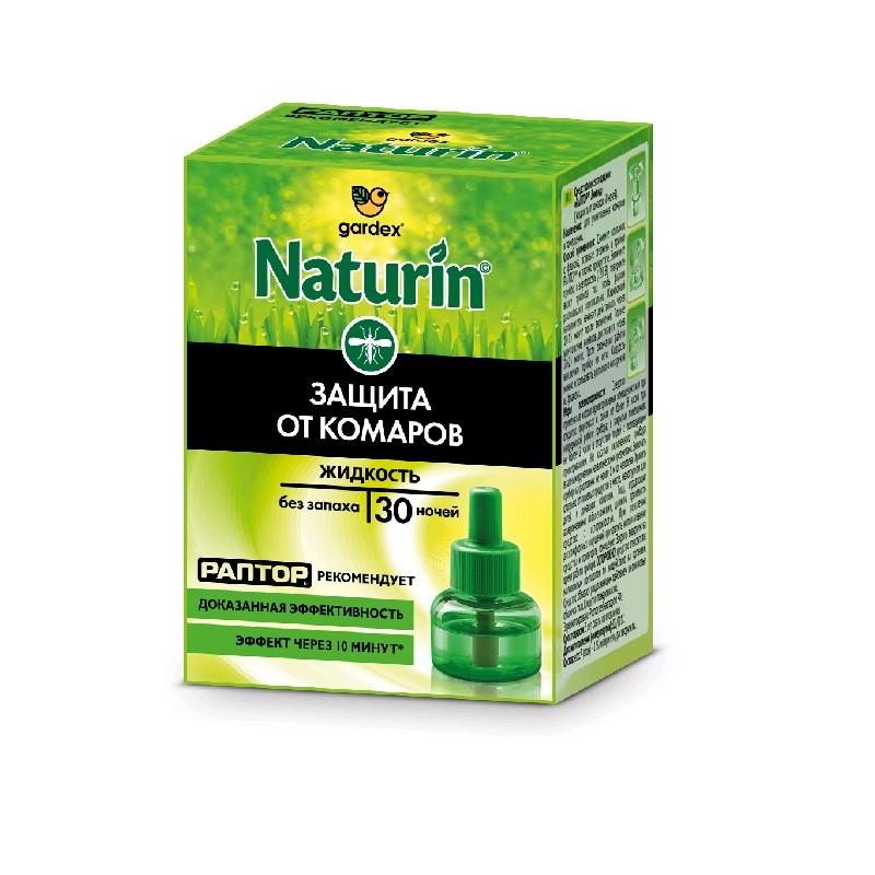 Naturin Жидкость от комаров без запаха 30ночей