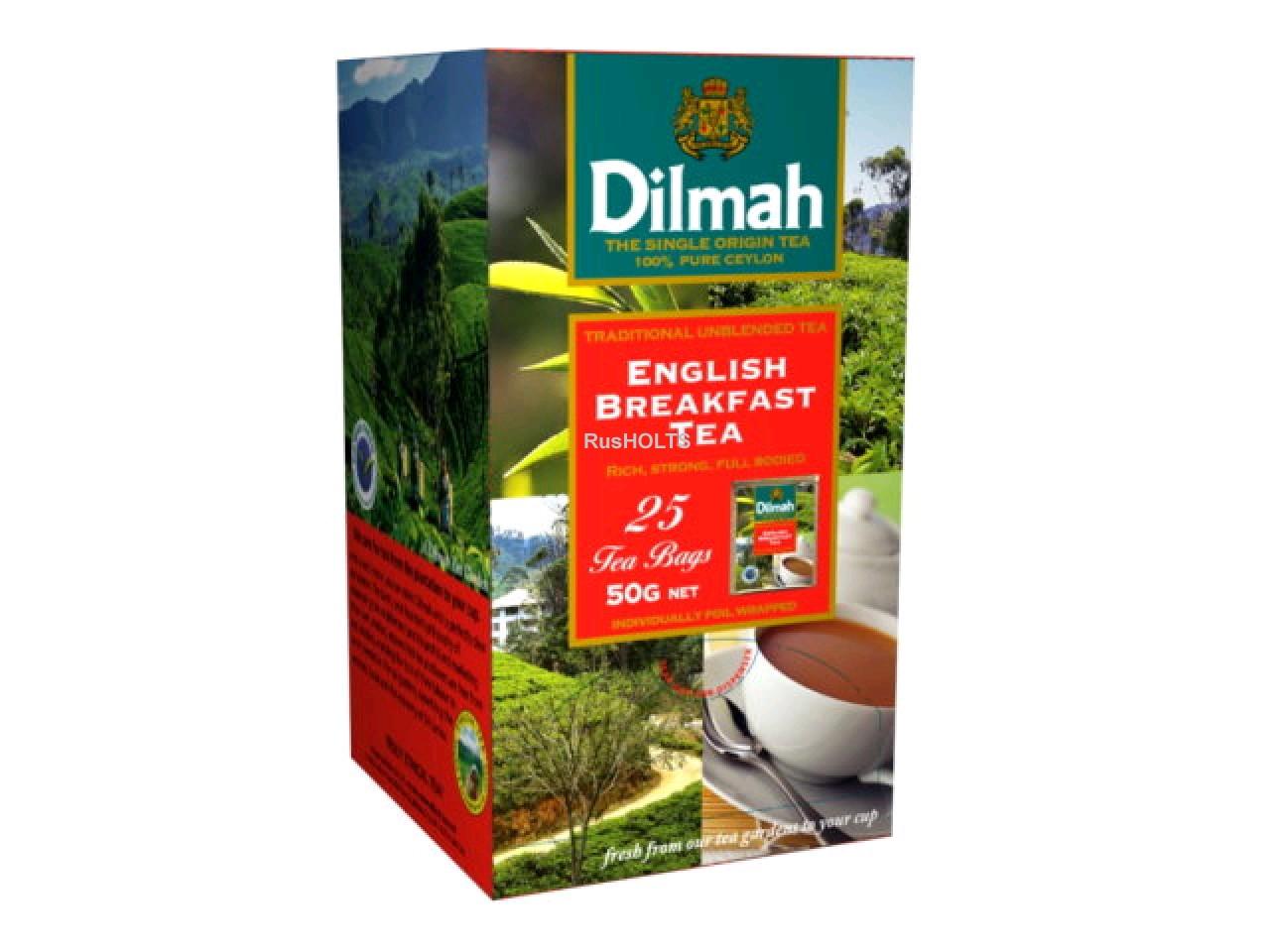 Чай Dilmah черный English Breakfast уп 25 пак