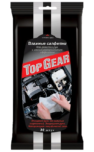 Top Gear Lady Салфетки для рук 30шт