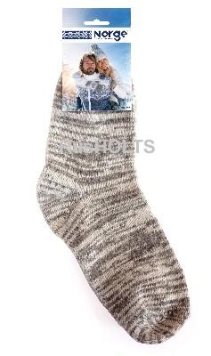 Носки мужские из пряжи однотонные