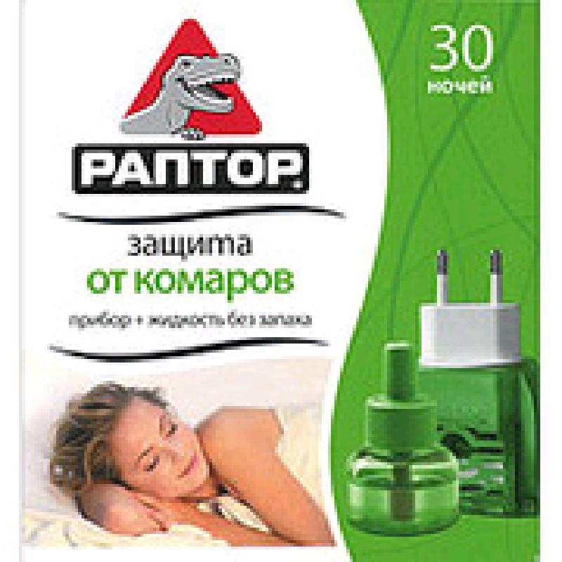 РАПТОР Комплект (приб.+жидкость от комаров 30 ноч)