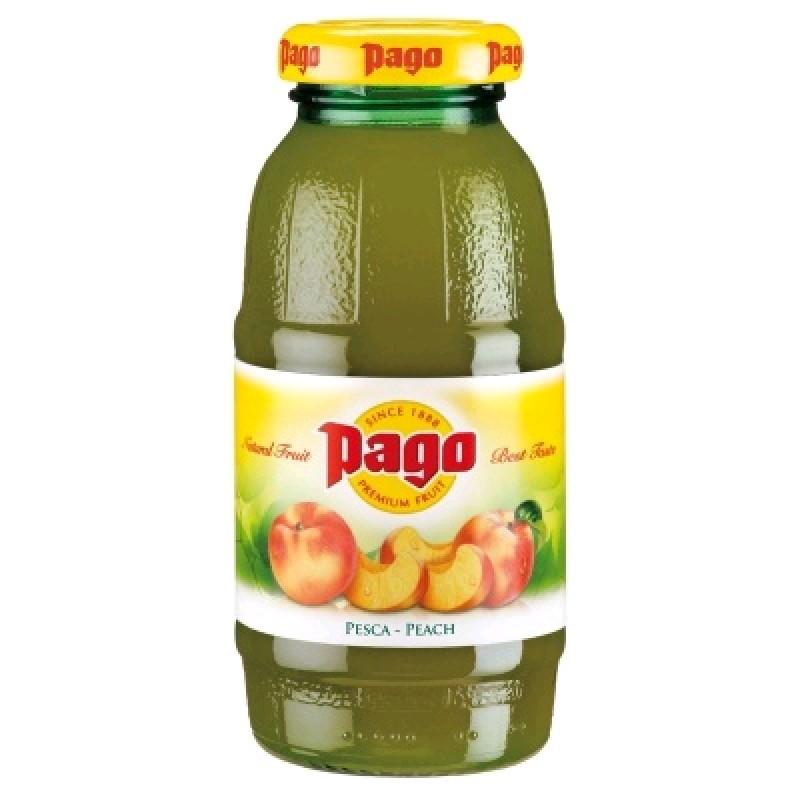 Нектар Pago Персик (Peach) 0,2х24 бут