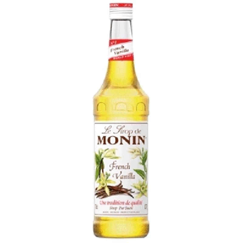 Сироп MONIN пастеризованный со вкусом и ароматом ванили