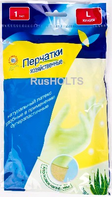 перчатки с х/б L