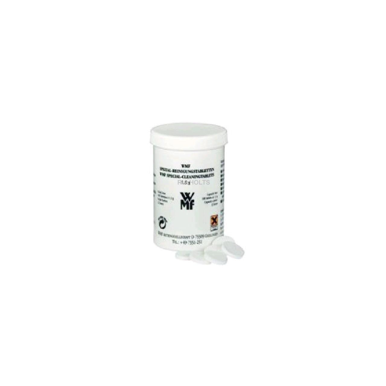 WMF  Cпециальные таблетки для очистки кофе-машин PRESTO (банка - 100таб./упак-12банок)