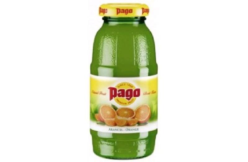 Сок Pago Апельсин (Orange) 0,2х24 бут