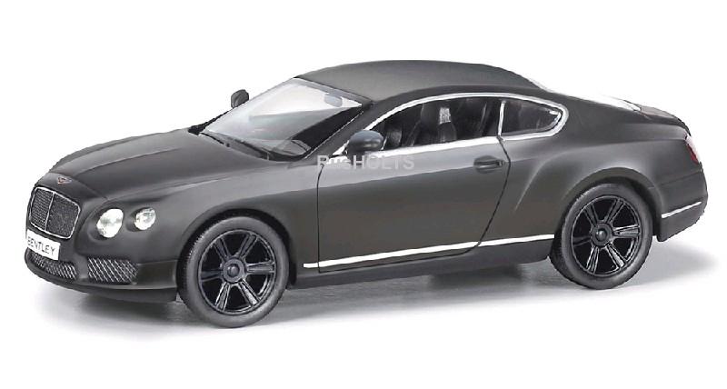 Игр.модель 1:32 Bentley Continental GT V8, инерционная, цвет: серый матовый