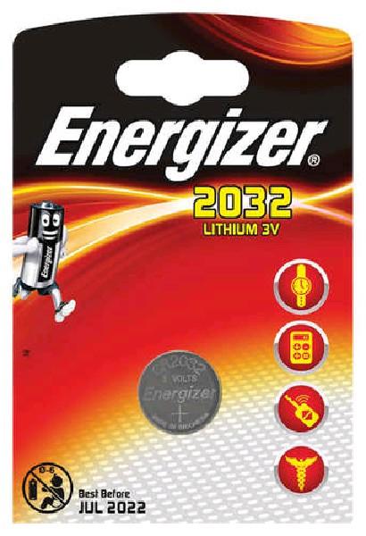 Energizer Элемент питания CR2032 BP1, 1шт.