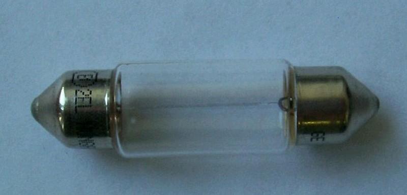 Лампа GE салонная C5W, 40mm, 12V, 5W, (бл. 2 шт.) 17129
