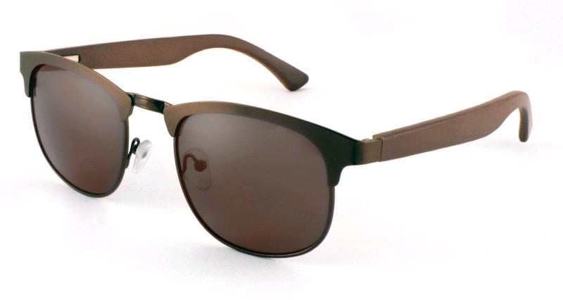 CF очки поляриз. женские темн. линза, бамбук Royal Series CF335832
