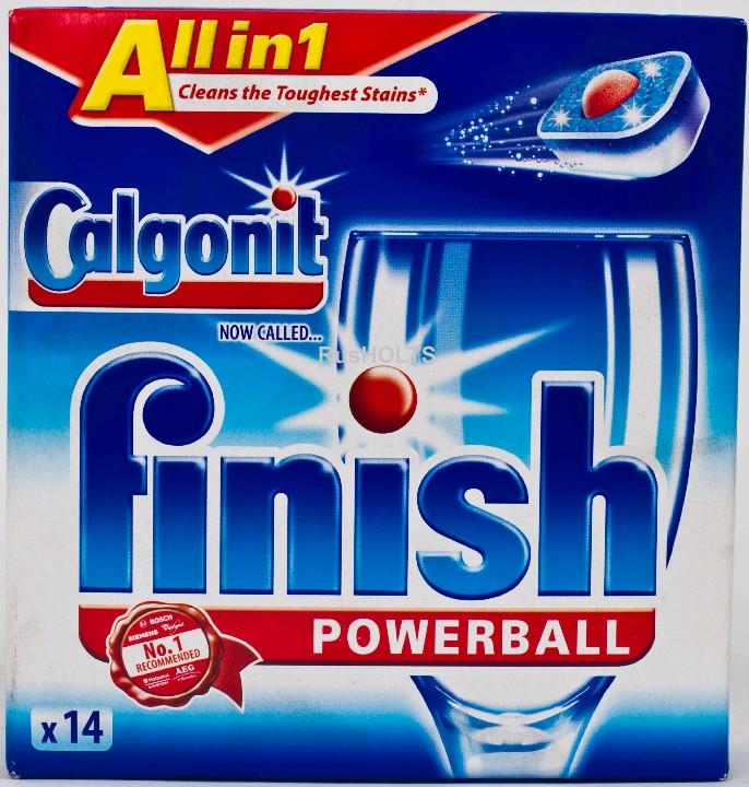 CALGONIT Ср-во для посудомоечных машин в таблетках все в одном 14 шт