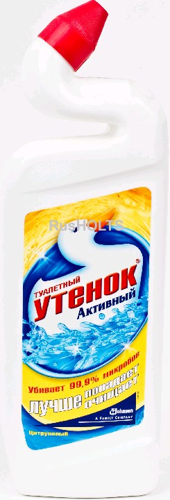 Туалетный утенок акт. цитрус, 500мл