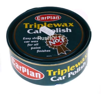 CarPlan Triplewax Крем-паста для полировки автомобиля (жесть), 350г