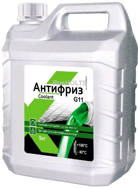 EXPERT Антифриз G11 (зеленый), 5 кг