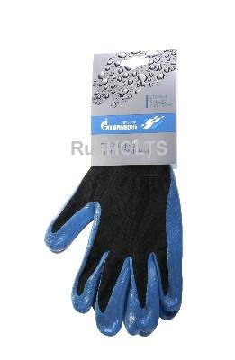 Перчатки с нитриловым покрытием ГазпромНефть, nl13nt