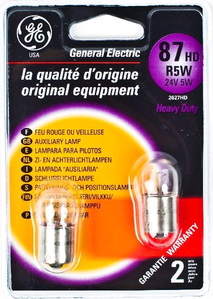 Лампа GE, R5W 24V 70W, BA15s (бл. 2шт)