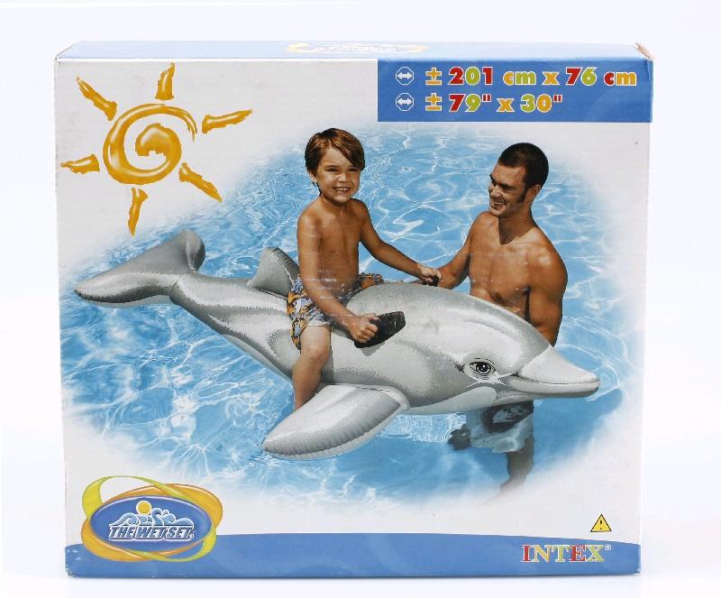 INTEX Игрушка для катания по воде Дельфиин