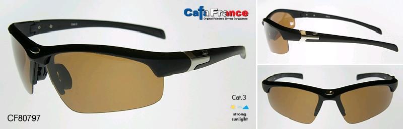 "CF Очки поляризационные ""Cafa France"", унисекс, корич., CF80797"