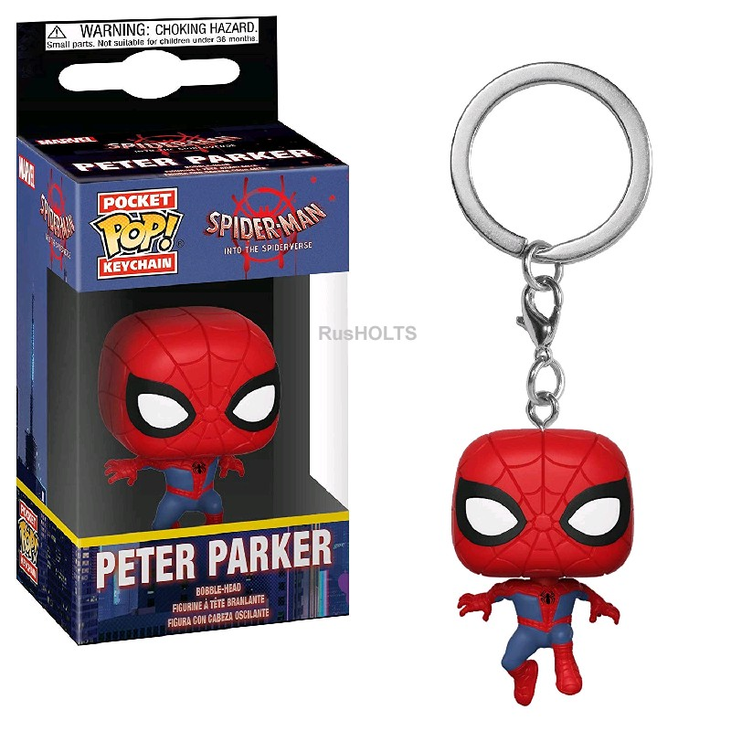 Funko Брелок Pocket POP! Keychain: Animated Spider-Man: Spider-Man 34446-PD