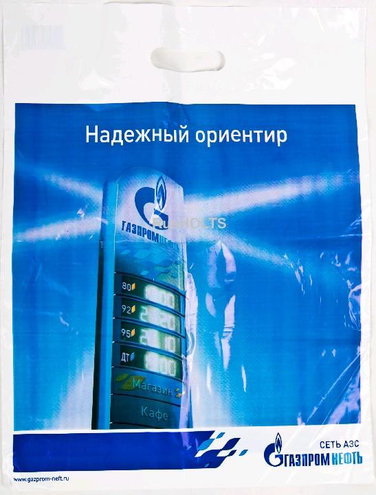"""Пакет п/э """"Газпромнефть"""""""